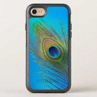 Peacock Tail Feather OtterBox Symmetry iPhone 8/7 Case