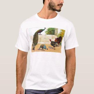 Peacock,Turkey, & Guinea Fowl T-Shirt