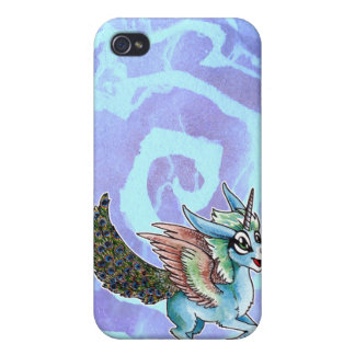 Peacock Unicorn Covers For iPhone 4