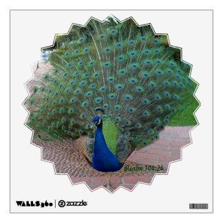 Peacock Wall Decal