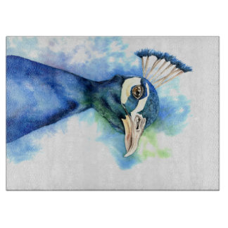 Peacock Watercolor Painting Boards