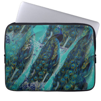 Peacocks Elegant Laptop Sleeve