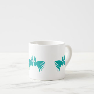 Peacocks Espresso Cup