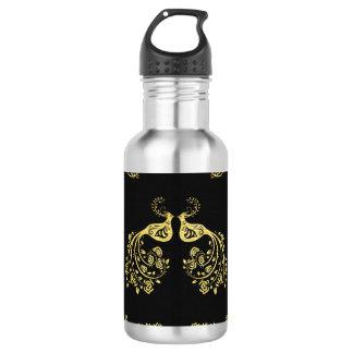 Peacocks in Love 532 Ml Water Bottle