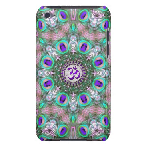Peacolia Purple Meditation OM New Age iPod Touch iPod Case-Mate Case