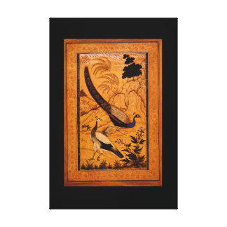 Peafowl in a Landscape'_The Orient Canvas Print