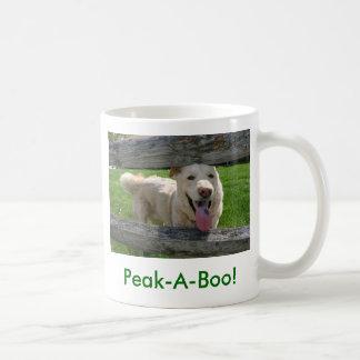 Peak-A-Boo! Coffee Mug