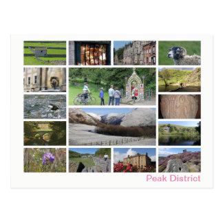 Peak District multi-image 2 Postcard