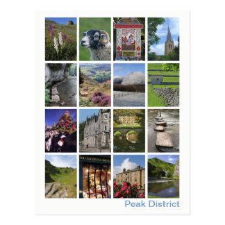 Peak District multi-image 3 Postcard