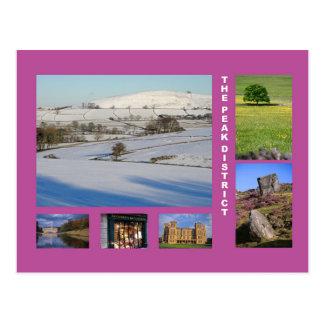 Peak District multi-image Postcard