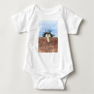 peaking tom baby jersey baby bodysuit