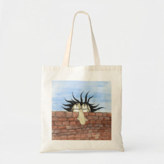 Peaking Tom tote bag