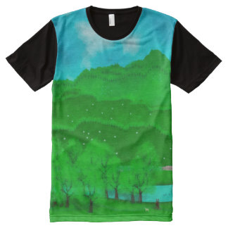 Peaks All-Over-Print T-Shirt