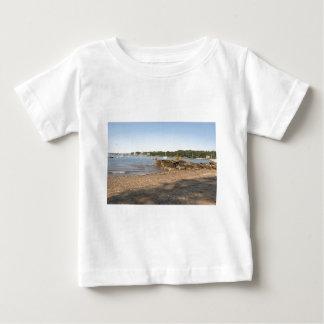 Peaks Island, ME Club Beach Baby T-Shirt