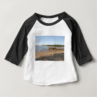 Peaks Island, ME Club Beach Baby T-Shirt