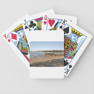 Peaks Island, ME Club Beach Bicycle Playing Cards