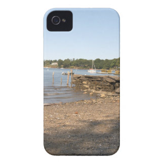 Peaks Island, ME Club Beach iPhone 4 Case-Mate Cases