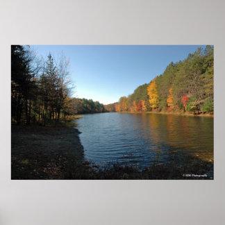 Peaks Lake in the Poconos print 018