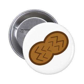 peanut 2 inch round button