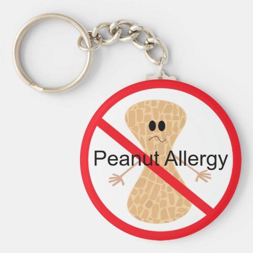 Peanut Allergy Keychain