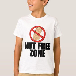 Peanut Allergy Nut Free Kid T-Shirt