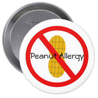 Peanut Allergy Pin