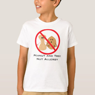 Peanut And Tree Nut Free Allergy Shirt