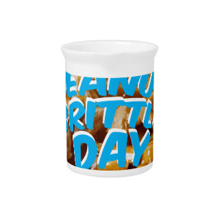 Peanut Brittle Day - Appreciation Day Pitcher