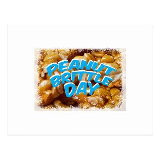 Peanut Brittle Day - Appreciation Day Postcard