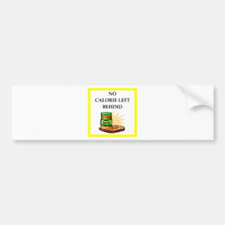peanut bumper sticker