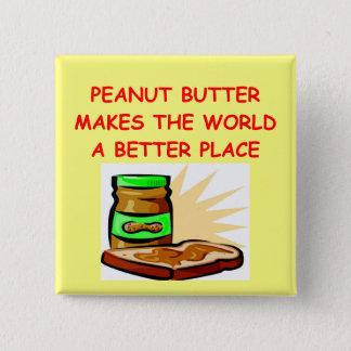 peanut butter 2 inch square button