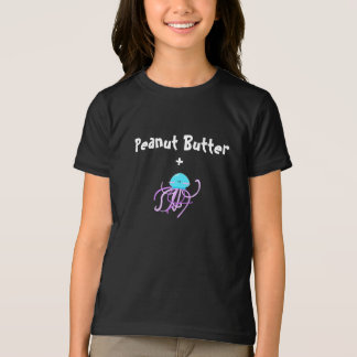 "Peanut Butter and ""Jelly"" Girl's T-Shirt (dark)"
