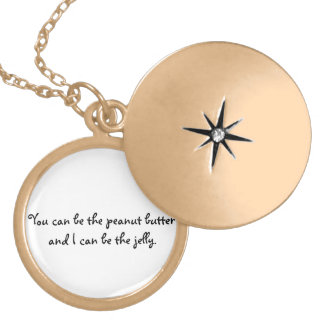 Peanut Butter and Jelly Locket