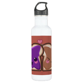 Peanut Butter and Jelly Love 710 Ml Water Bottle