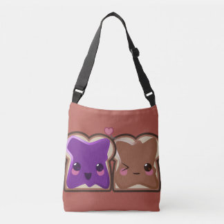 Peanut Butter and Jelly Love Crossbody Bag