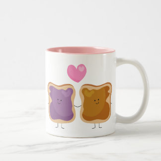Peanut Butter and Jelly Love Mug