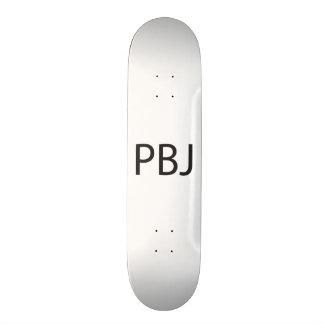 Peanut Butter and Jelly -or- Pretty Boy Jock.ai Skateboard Deck