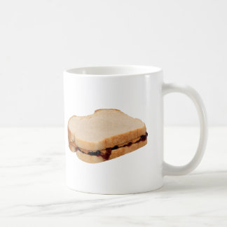Peanut Butter and Jelly Sandwich Coffee Mug
