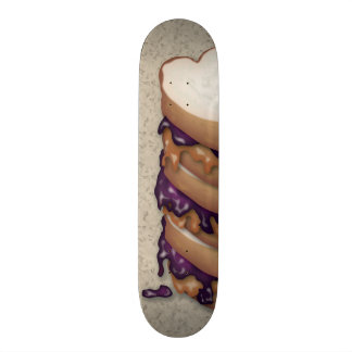 Peanut Butter and Jelly Sandwiches Skateboard