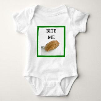 peanut butter baby bodysuit