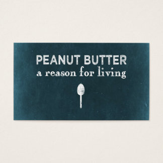 Peanut Butter Business Card