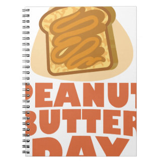 Peanut Butter Day - Appreciation Day Notebook