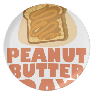 Peanut Butter Day - Appreciation Day Plate