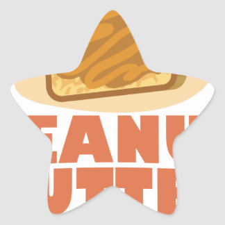 Peanut Butter Day - Appreciation Day Star Sticker