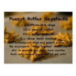 Peanut Butter Haystacks Post Card