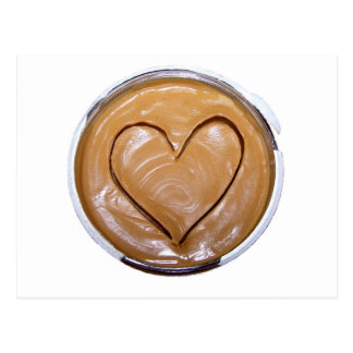 Peanut Butter Heart Postcard