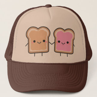 Peanut Butter + Jelly Hat