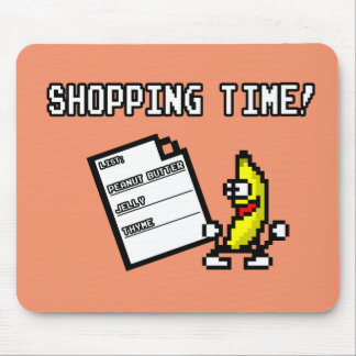 Peanut Butter Jelly Thyme Shopping Time Mouse Pad