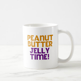 Peanut Butter Jelly Time Coffee Mug