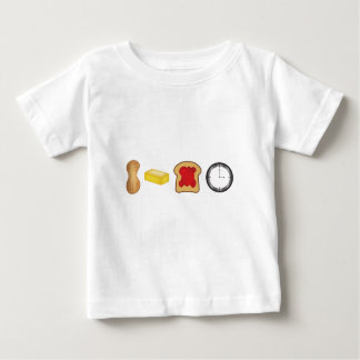 Peanut Butter Jelly Time Horizontal Baby T-Shirt